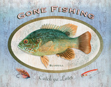 Bluegill Sign Posters by Washburn Lynnea