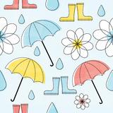 In the Rain II Posters by Mack Steve