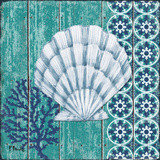 Indigo Sea II Art by Brent Paul