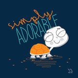 Simply Adorable Print by  Blue Fish