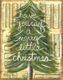 Merry Little Christmas Posters by Monica Martin