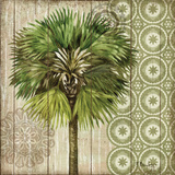 Verde Palm II Print by Paul Brent