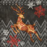 Reindeer Dance II Prints by Brent Blue Fish