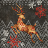 Reindeer Dance II Prints by Paul Brent