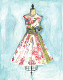 Rose Dress Prints by Palanuk-Wilson Denice
