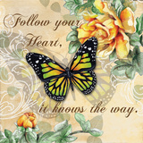 Inspire Butterfly I Prints by Donna Knold