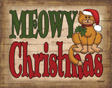 Meowy Christmas Prints by Todd Williams