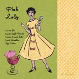Pink Lady Prints by Ven Vertloh Lisa