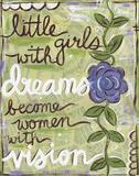 Little Girls Prints by Martin Monica