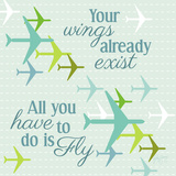 Fly I Posters by Patty Young