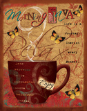 Morning Java Posters by Hutto Victoria