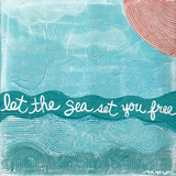 Let The Sea Posters by Martin Monica