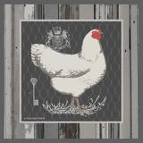White Hen Prints by Babbitt Gwendolyn
