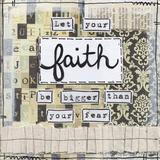 Let Your Faith Art by Martin Monica