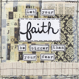 Let Your Faith Posters by Monica Martin