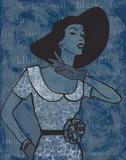Vintage Glamour I Poster von Lisa Ven Vertloh