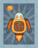Robot III Posters by Teresa Woo