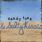 Sandy Toes Posters by Monica Martin