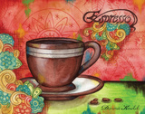 Spring Espresso Prints by Donna Knold