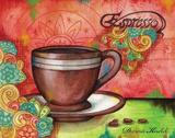 Spring Espresso Prints by Knold Donna