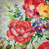 Patio Peony III Posters by Paul Brent