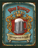 Sires Brewery Posters by Ninette Parisi