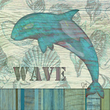 Wave Art by Audrey Charlene