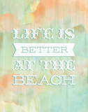 Life Beach Prints by Ashley Sta Teresa