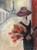 Paris Romance Prints by Palanuk-Wilson Denice