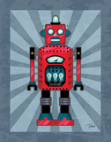 Robot II Prints by Teresa Woo