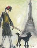 Walk in Paris Prints by Palanuk-Wilson Denice