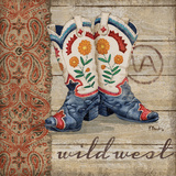 Brent Paul - Wild West Boots IV - Reprodüksiyon