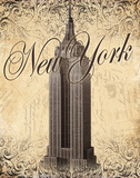 New York Print by Todd Williams