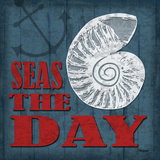 Seas the Day Poster by Todd Williams