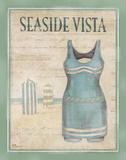 Vintage Bathing Suit II Posters by Brent Paul