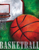 Basketball Posters by Donna Knold