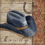 Wild West Hats I Pôster por Brent Paul