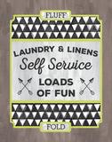 Laundry Linens Prints by Ashley Sta Teresa