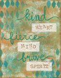Kind Heart Plakat autor Martin Monica