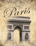 Paris II Print by Williams Todd