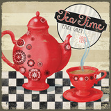 Tea Time I Kunstdrucke von Brent Paul