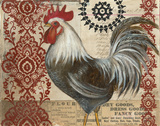 Classic Rooster II Poster by Kimberly Poloson