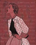 Vintage Glamour II Kunstdrucke von Lisa Ven Vertloh