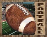 Football Plakat af Todd Williams