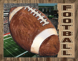 Football Print by Todd Williams