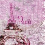 Lavender Paris Posters par Roberto LuAnn