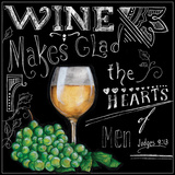 Wine Toasts III Prints by Donna Knold