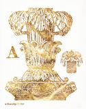 Gold Column A Prints by Gwendolyn Babbitt
