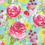 Spring Fling Medley I Posters by Sara Berrenson
