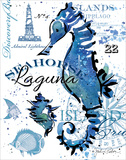 Seahorse Laguna Posters by Paton Julie